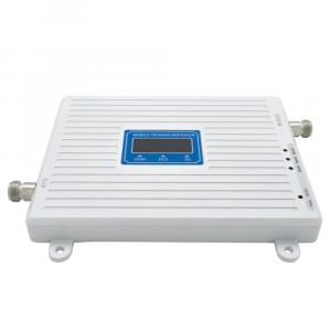 Усилитель сигнала Power Signal белый 900/1800/2100 MHz (для 2G, 3G, 4G) 70 dBi, кабель 15 м., комплект - 2
