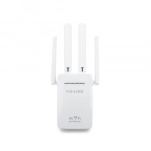 Усилитель Wi-Fi усилитель сигнала Pix-Link 4 антенны 2.4GHz