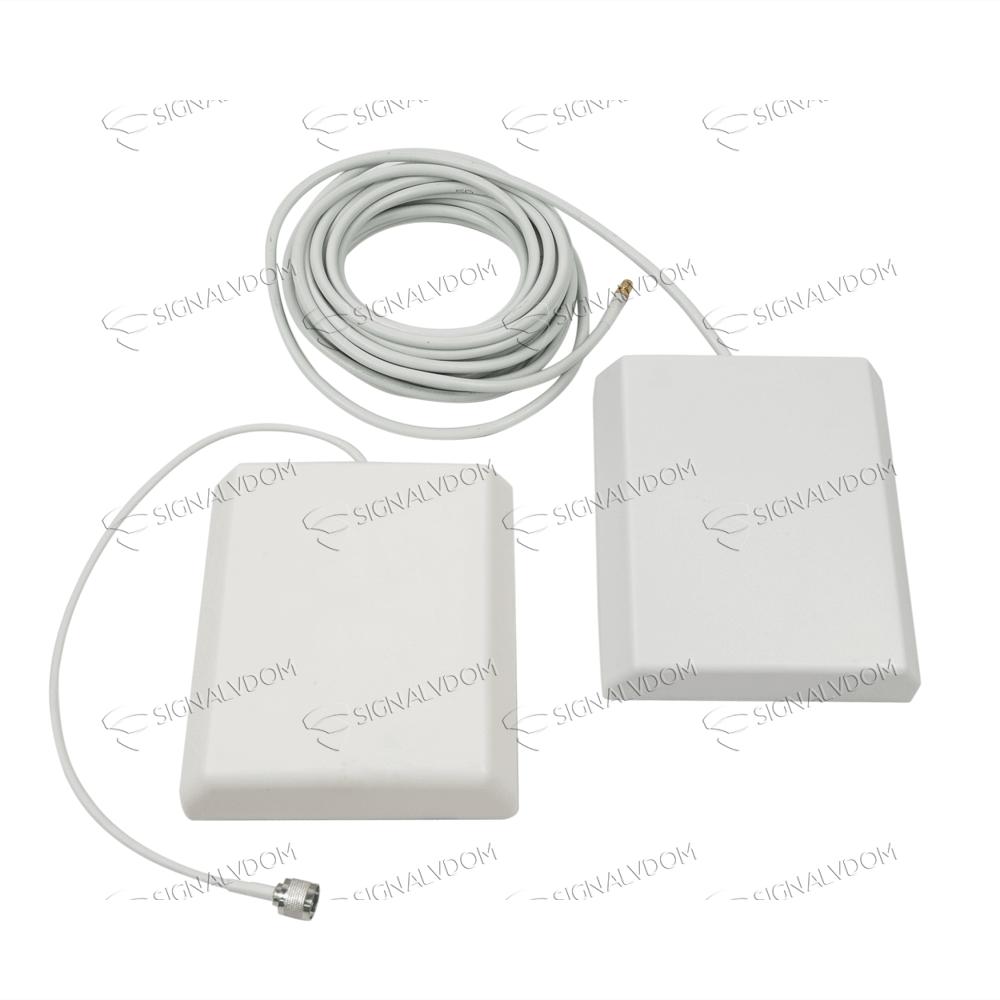 Усилитель сигнала VEGATEL VT-900E/1800 (LED) комплект - 3