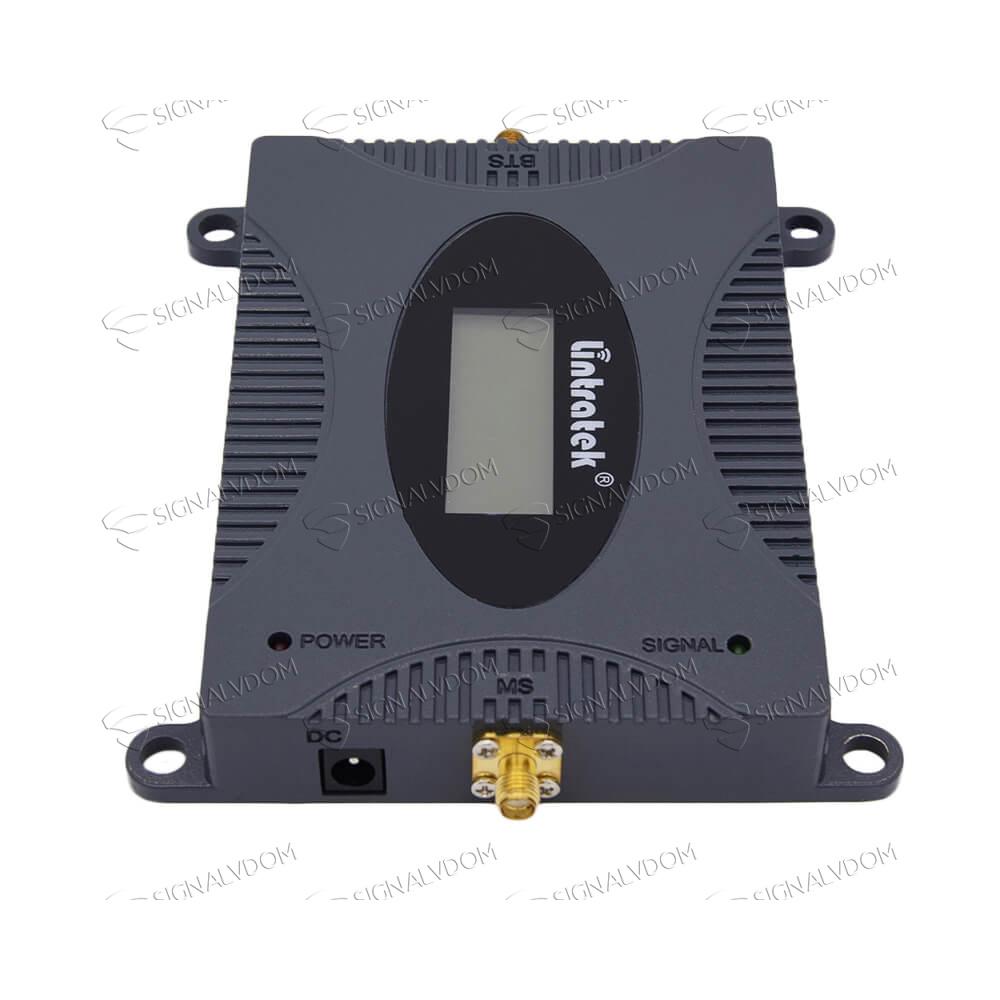 Усилитель сигнала Lintratek 2100 mHz (для 3G) 65 dBi, кабель 10 м., комплект - 4
