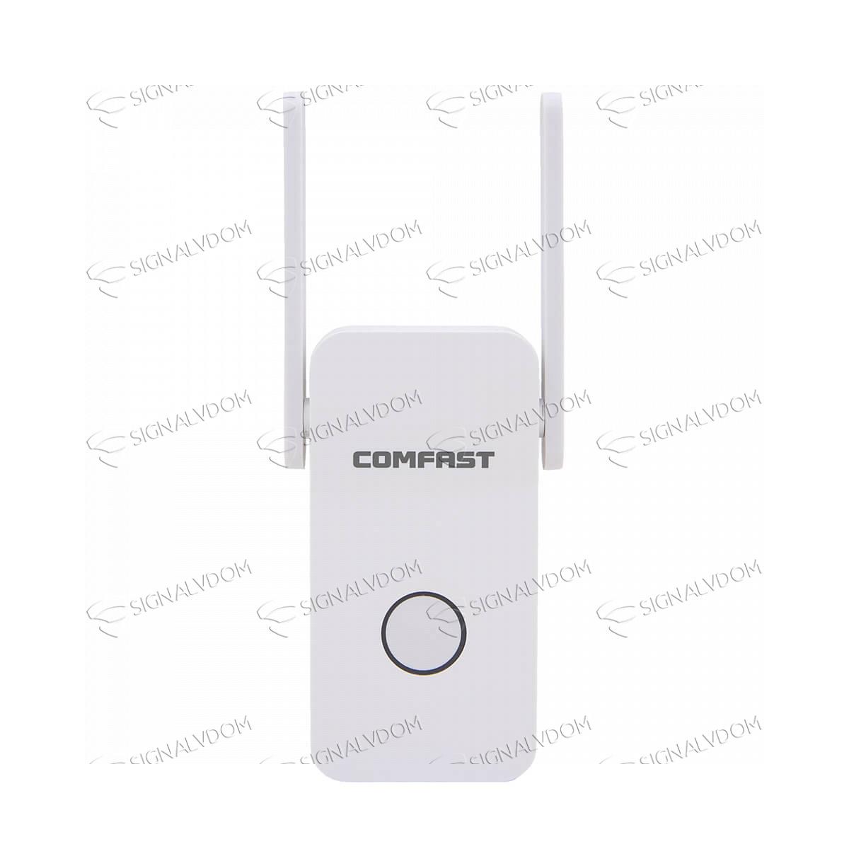 Wi-Fi усилитель сигнала Comfast CF-WR752AC 2 антенны 2.4GHz+5.8GHz